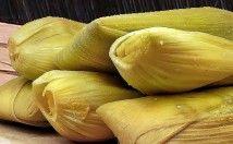 Bollitos de maíz tierno o hallaquitas de maiz