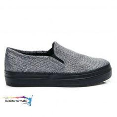 Moderné dámske slip on Tenisky Toledo za výhodnú cenu All Black Sneakers, Loafers, Slip On, Shoes, Fashion, Travel Shoes, Moda, Zapatos, Moccasins