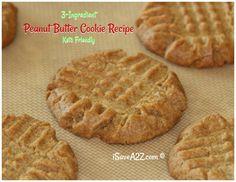 3 Ingredient Keto Peanut Butter Cookies Recipe