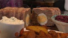 Recept: betaalbaar en lekker gehaktbrood met ei