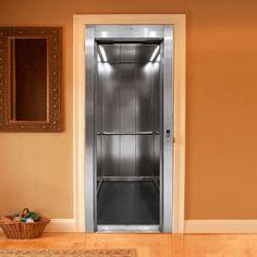 "Trompe l'oeil ""Open Lift"" panel by Couture Deco"