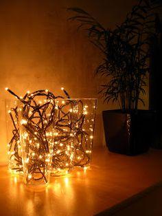 Aalto maljakko & jouluvalot