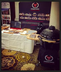 SteakStones exhibiting at iChef 2016 network evening at The Langham by steakstones