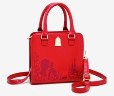 Loungefly 'Beauty And The Beast' Rose Handbag And Wallet