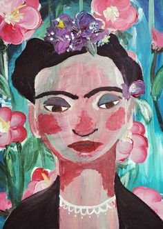 Frida Art Print by erin darcy