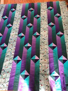Gentlemens Agreement in Birds Quilt Top Quilt Square Patterns, Patchwork Quilt Patterns, Quilt Patterns Free, Square Quilt, Patchwork Bags, Patchwork Fabric, Sewing Patterns, Nancy Zieman, Tim Holtz