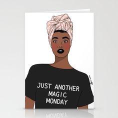 Monday Greetings, Monday Monday, Fold Envelope, Blank White, Folded Cards, Headgear, Envelopes, Card Stock, Stationery
