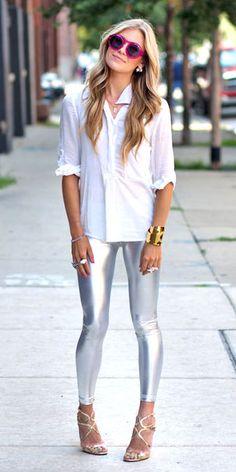 Roupa do futuro, para usar já: aprenda com Gloria Kalil a adotar o prata no guarda-roupa   Chic - Gloria Kalil: Moda, Beleza, Cultura e Comportamento