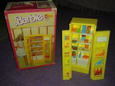 Geladeira Da Barbie Da Estrela Original Anos 80 - R$ 132,00 no MercadoLivre