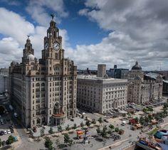 https://flic.kr/p/LxrGKG | One Two Three Graces | Pier Head - Liverpool