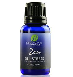 REDUCE STRESS for WELLNESS and BEAUTY.  ZEN DE-STRESS Essential Oil Blend. Aromatherapy & Topical Use to Ease Pain & Stress. 0.48 oz. Includes Organic Lavender, Clary Sage & Roman Chamomile, Organic Jojoba + Sunflower Oil Sublime Beauty NATURALS http://www.amazon.com/dp/B00Y95DO78/ref=cm_sw_r_pi_dp_Lrmnwb0TEDMVY