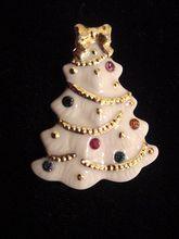 x-mas crystal Vintage treasured tree lenox