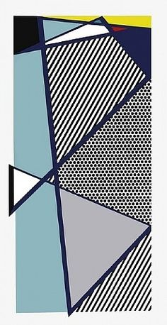 Roy Lichtenstein: Imperfect Print for B., from Brooklyn Academy of Music Anniversary Portfolio Roy Lichtenstein Pop Art, Industrial Paintings, Academy Of Music, Sculptures For Sale, Commercial Art, Art Moderne, Art Institute Of Chicago, Pen And Paper, Comic Books Art