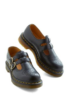 I had these Docs in black and brown in high school.  Some of the most comfortable shoes I've owned. #black #modcloth
