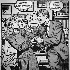 Find images and videos about retro, high and comic on We Heart It - the app to get lost in what you love. Old Comics, Comics Girls, Vintage Comics, Funny Comics, Funny Vintage, Comics Illustration, Illustrations, Pop Art, Comic Books Art