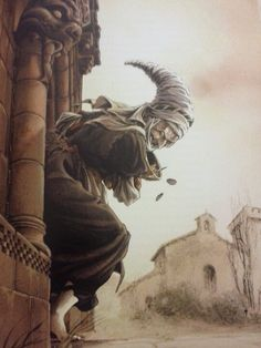 "Juan Luis Landa's drawing in ""Sorginak""(Witches)book. Love it."
