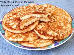 Vibibi (Rice and Coconut Pancakes) | Fauzia's Kitchen Fun