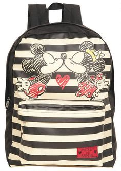 fb8545659be0 Mickey  amp  Minnie Backpack Mickey Mouse Backpack