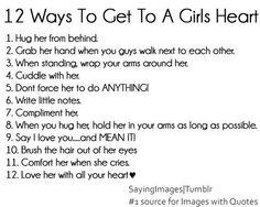 Girls heart