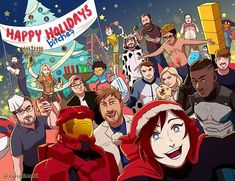 Rooster Teeth, Rwby, Happy Holidays, Cool Art, The Incredibles, Fan Art, Anime, Instagram, Characters