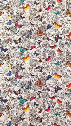 Butterfly Gardens Wallpaper by Osborne and Little