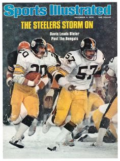 Rocky Bleier autographed Sports Illustrated Magazine (Pittsburgh Steelers) PSA Cover is off and has a rip Pittsburgh Steelers Wallpaper, Pittsburgh Steelers Football, Pittsburgh Sports, Football Team, Football Pics, Football Memes, School Football, Pittsburgh Pirates, Here We Go Steelers