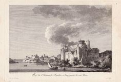 View of the Castle of Brindisi and Part of its Port