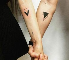 Couple Tattoos Unique Meaningful, Romantic Couples Tattoos, Small Couple Tattoos, Couples Tattoo Designs, Tattoo For Couples, Couples Matching Tattoos, Couple Tattoo Ideas, Matching Relationship Tattoos, Matching Friend Tattoos
