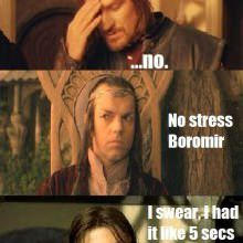 One Does Not Simply... Wait Wut?