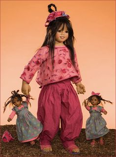 Kindra and kleines by MiriamBJDolls, via Flickr