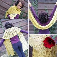 Magdalena Wrap free crochet pattern