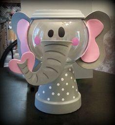 New baby shower elephant theme centerpieces animal cracker ideas Elephant Crafts, Elephant Party, Elephant Birthday, Elephant Theme, Elephant Baby Showers, Baby Shower Games, Baby Shower Parties, Baby Boy Shower, Flower Pot Crafts