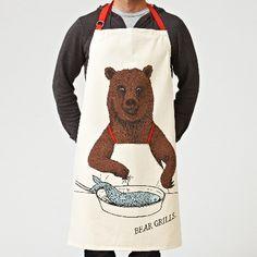 Men's apron - bear grills - hardtofind.