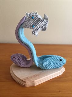 3D origami shoe from Louis Miller: The Art of Shoes