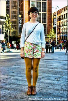 Xana (seen in Plaza de Callao, Madrid)