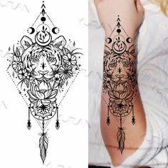 Mandala Tattoos For Women, Rose Tattoos For Women, Finger Tattoo For Women, Tattoos For Women Half Sleeve, Finger Tattoos, Tattoos For Guys, Lace Sleeve Tattoos, Henna Sleeve, Quarter Sleeve Tattoos