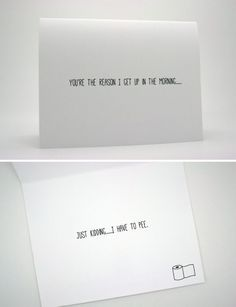 when you get  sick with boring lovely valentine cards