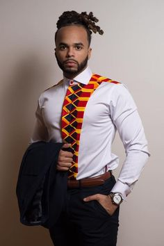 2018 ankara styles for men : Awesome Ankara shirt outfits For Men - Awsome Shirts - Ideas of Awsome Shirts - Homme African Shirts For Men, African Dresses Men, African Clothing For Men, African Attire, African Wear, African Style, African Tops, African Beauty, African Women