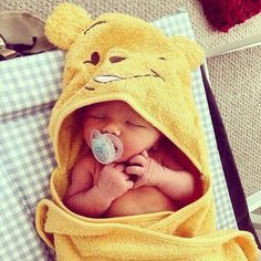 Cute, cute, cute! We've fallen in love with this adorable baby. #AdorableBaby #Baby #Cute