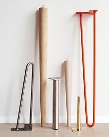 For homemade tables! Table It: Great Legs for Your DIY Table | Martha Stewart