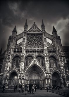 Westminster abbey, London, England...