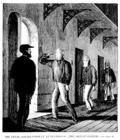 The Penal Establishment at Pentridge - The Silent System 1867