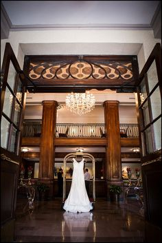Beautiful dress shot! Hang it in the lobby of the hotel