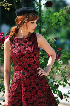 Miss Pandora // Where the Wild Rose Grow - Look