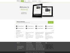 WordPress › Heavenly « Free WordPress Themes