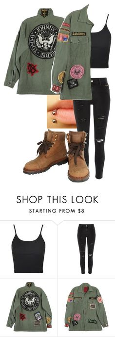 """""""Untitled #338"""" by jadettaa ❤ liked on Polyvore featuring Topshop, River Island, MadeWorn and Chanel"""