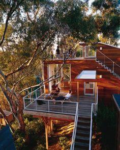 Terrasse in luftiger Höhe