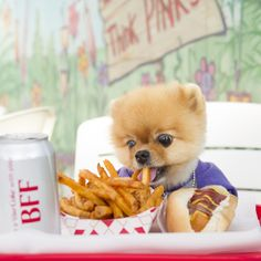 Fries are another Jiff favorite: