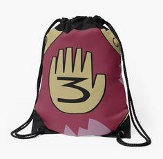 Gravity Falls Journal 3 #Bag by Art of Zan #gravityfalls #journal3 #mysteryshack