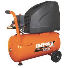 Impax IM201-24L 24Ltr Compressor 230V 27926 Powerful yet compact oil-free compressor with high air delivery rate, improving the continuous performance of all accessories. Highly reliable, low noise and anti-vibration design. Suitable for sprayi http://www.MightGet.com/april-2017-1/impax-im201-24l-24ltr-compressor-230v-27926.asp